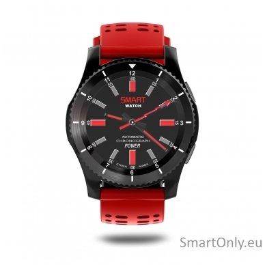 Išmanusis laikrodis - telefonas DT NO.1 GS8 (Raudona) 3