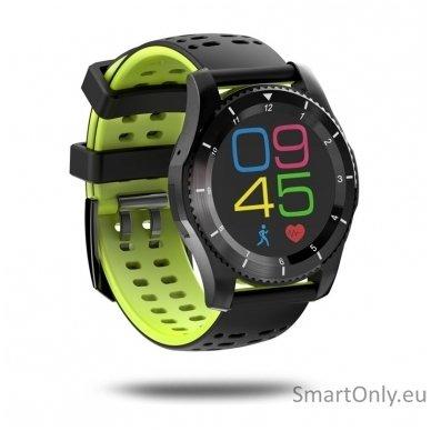 Išmanusis laikrodis - telefonas DT NO.1 GS8 (Žalia)
