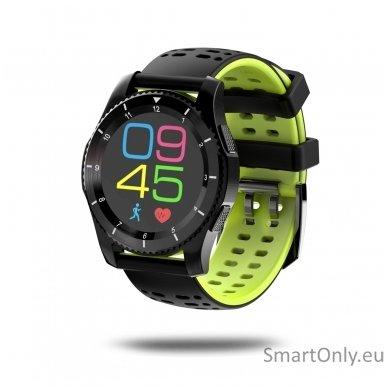 Išmanusis laikrodis - telefonas DT NO.1 GS8 (Žalia) 2