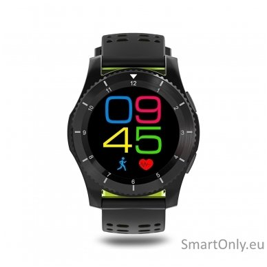 Išmanusis laikrodis - telefonas DT NO.1 GS8 (Žalia) 6