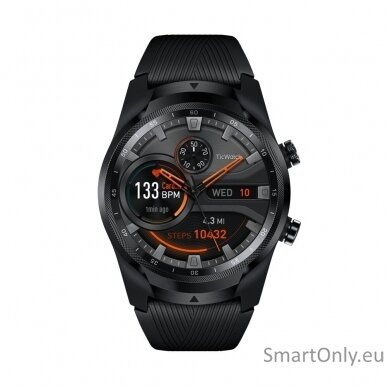 Išmanusis laikrodis TicWatch Pro All Black 2