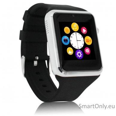 Išmanusis laikrodis-telefonas ZGPAX S79 (Juoda/sidabrinė) 2