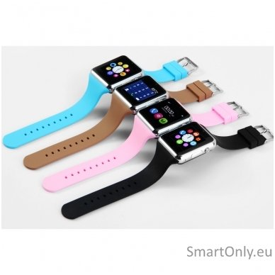 Išmanusis laikrodis-telefonas ZGPAX S79 (Juoda/sidabrinė) 8