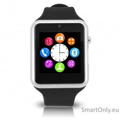 Išmanusis laikrodis-telefonas ZGPAX S79 (Juoda/sidabrinė) 4