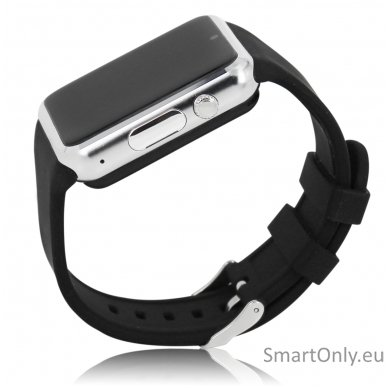 Išmanusis laikrodis-telefonas ZGPAX S79 (Juoda/sidabrinė) 6