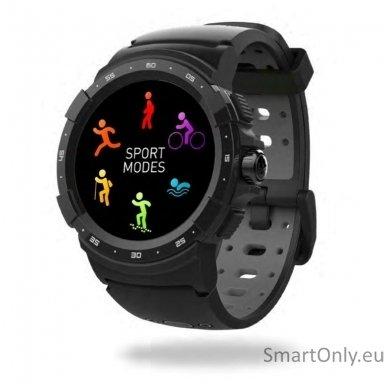 Išmanusis sportinis GPS laikrodis Mykronoz ZeSport 2 (Juodas/Pilkas) 2