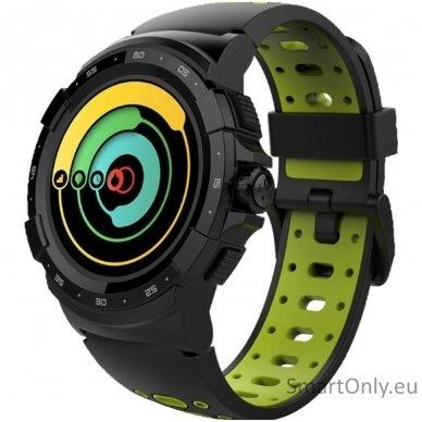 Išmanusis sportinis GPS laikrodis Mykronoz ZeSport2 (Juodas/Geltonas)