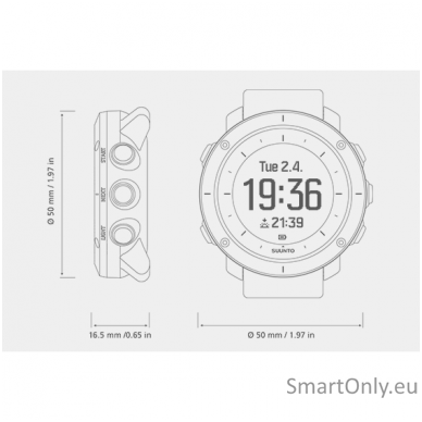 Smartwatch SUUNTO TRAVERSE GRAPHITE 4