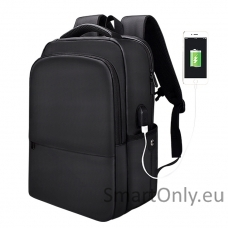 MiniMu USB kuprinė All Black