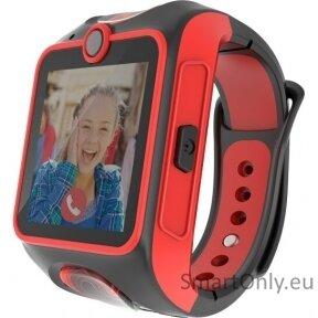 Išmanusis laikrodis Myki Junior (juoda/raudona)