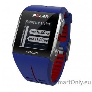 Pulsometras Polar V800 (Mėlyna)