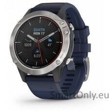 quatix 6, Gray w/ Captain Blue Band, GPS Watch, EMEA
