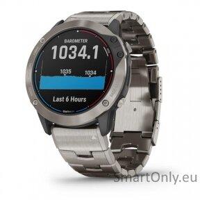 quatix 6 Titanium, Saphhire, Gray w/Ti Band, GPS Watch, EMEA