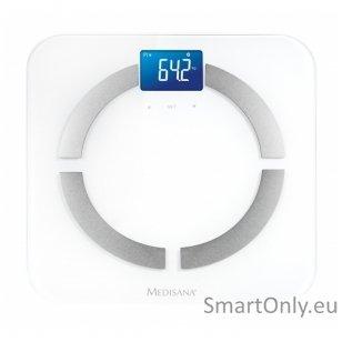 Svarstyklės - kūno masės analizatorius  Medisana BS 430 Connect su Bluetooth funkcija