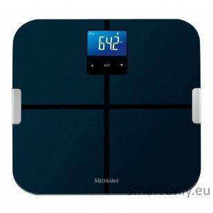 Svarstyklės - kūno masės analizatorius  Medisana BS 440 Connect su Bluetooth funkcija