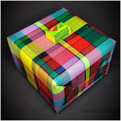 Šventinis dovanos pakavimas 4
