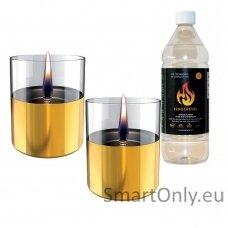 Ekologiškų žvakių dovanų rinkinys Tenderflame Gold