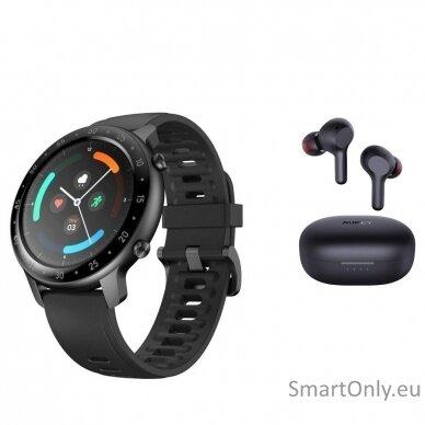 TicWatch GTX išmanusis laikrodis + Aukey belaidės ausinės