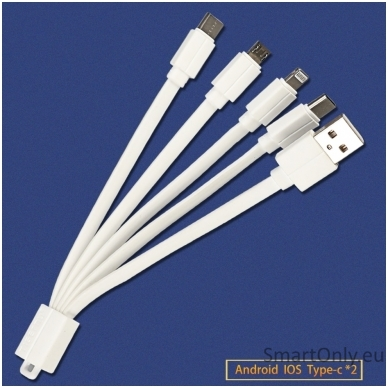 Universalus USB laidas TGN 3in1 3