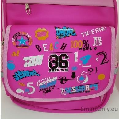 Vaikiška išmanioji kuprinė TGN B3227 Bright Pink 6