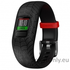 vivofit jr2, WW, Adjustable, Spider-Man, Black