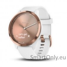 vivomove HR, E EU, Sport, Rose Gold-White , S/M