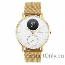 Išmanusis laikrodis Withings Steel HR 36mm Champagne Gold White