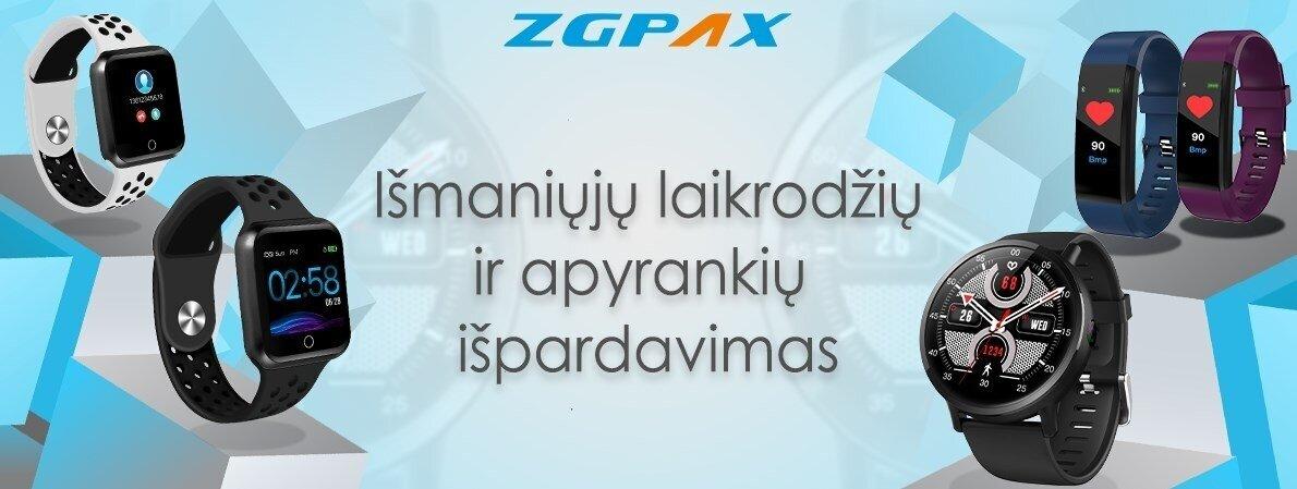 ZGPAX išmaniųjų laikrodžių ir apyrankių išpardavimas
